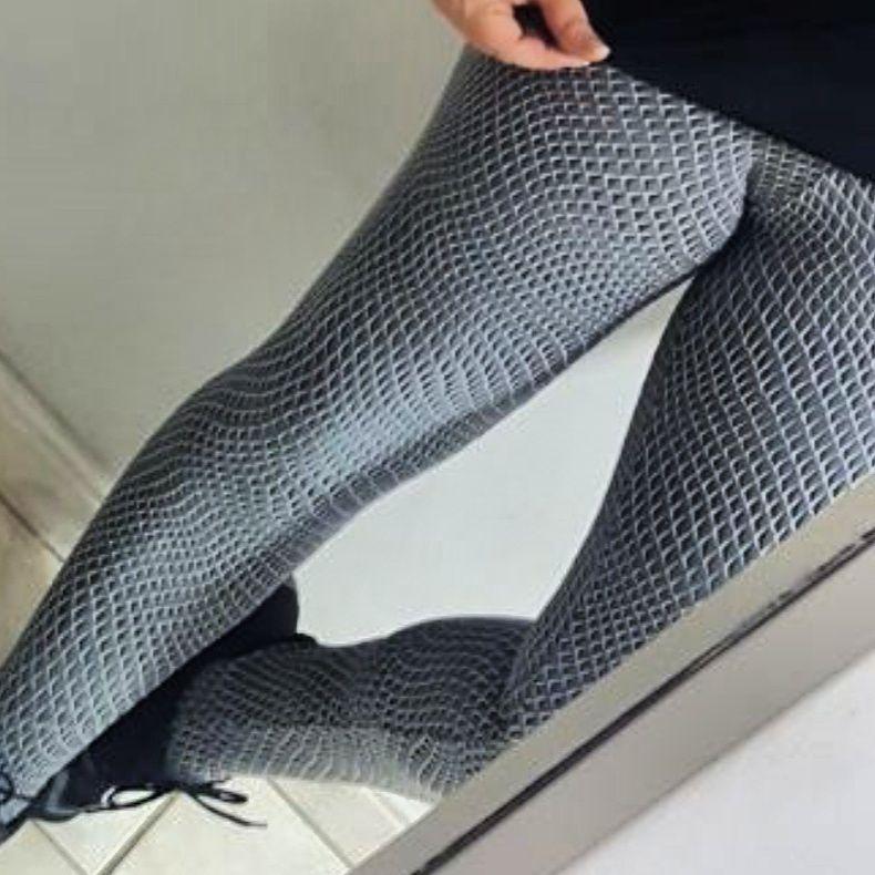 Legging Emborrachada  - Cintura Carioca Moda Fitness