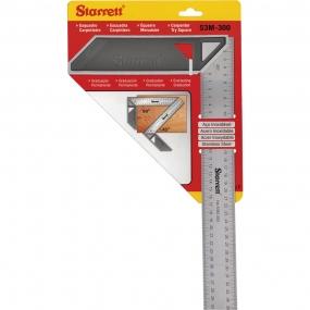 Esquadro Carpinteiro com Cabo Aluminio 300mm - Starrett