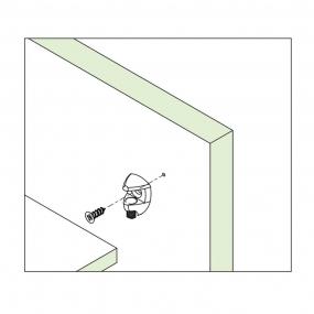Suporte para Prateleira de Vidro 10mm (10 peças) - FGVTN