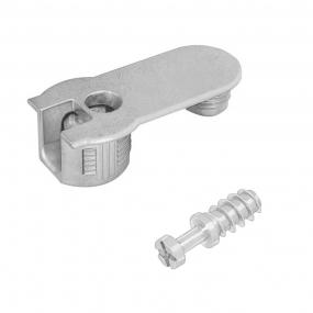 FBA45 16/19 Zamak Niquelado c/ Parafuso 1/4x11mm (10 peças) - FGVTN