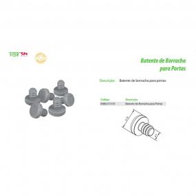 Batente de Borracha para Portas (10 pçs) - FGVTN