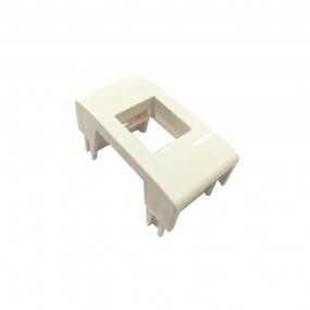 Bloco Pezzi P/ Rj45 Keystone Branco  - Dutotec