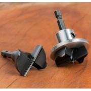 Broca para Dobradiça 35mm com Limitador de Alumínio (HMPAL354) - WPW