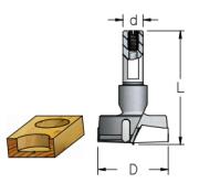 Broca Sistema Combinado - D20Mm - Direita ( 56,5L - D10) - Wpw