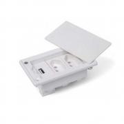 Caixa De Embutir 3Bl - Sem Blocos - Branco  - Dutotec