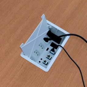 Caixa Mesa New 3 / 3Nbr20A+ 3Furacao Key -Preto - Dutotec