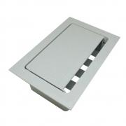 Caixa Mesa Pop 4 Furação Tom Painel+ 4 Furação Key- Cinza - Dutotec