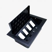 Caixa Mesa Pop 4 Furação Tom Painel+ 4 Furação Key- Preto - Dutotec