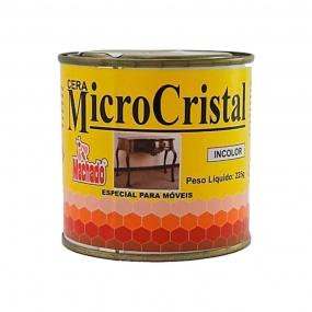 Cera Micro Cristal Incolor 225 gr - Machado