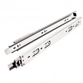 Corrediça Telescópica Steel 450M (Par) - Metalnox