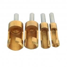 Cortador de Cavilhas e Plugs Métrico 6,8,13 e 16mm em Titânio - Silverline