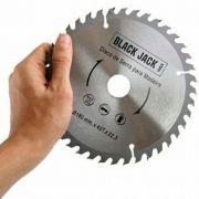 Disco de Serra para Madeira 180mm - Black Jack