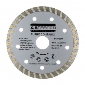 Disco Diamantado Turbo - Starfer