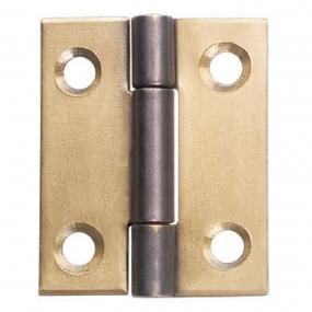 Dobradiça Aço 1 X 7/8 Latão Oxidado. (022608) - União