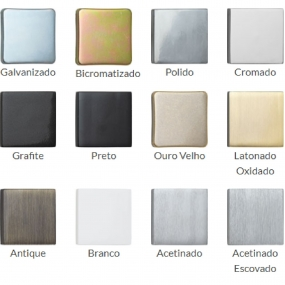 Dobradiça Aço 1 X 7/8 Preto Pintura (022606) - União