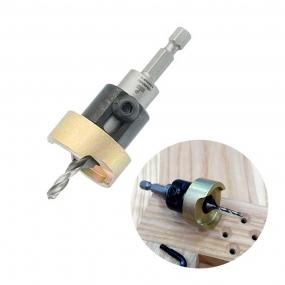 Escareador Countersink Alumínio 12,7mm com Broca 6mm -H10/65 ALB6007SC -Wpw