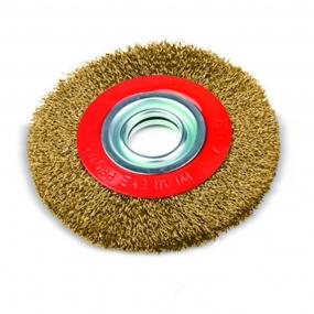 Escova de Aço Latonado Circular - Amatools