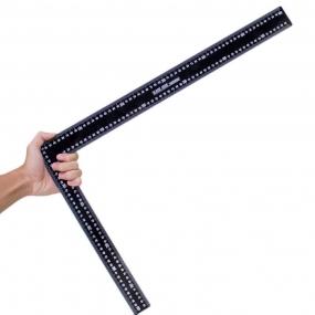 Esquadro de Aço com Graduação 600x400mm - Black Jack