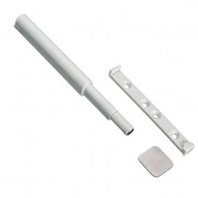 Fecho Push Open Branco - Metalnox