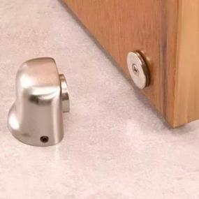 Fixador Magnético Para Portas de Aluminio - Porta Aberta - Starfer
