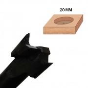Fresa de 20mm (Caneco) - Tekton Tools