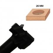 Fresa de 26mm (Caneco) - Tekton Tools