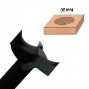 Fresa de 35mm (Caneco) - Tekton Tools