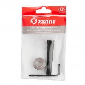 Fresa + Limitador 15mm (Minifix) - Zinni Gabaritos