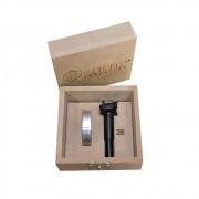 Fresa + Limitador 26mm (Dobradiça) - Zinni Gabaritos/Aluzini