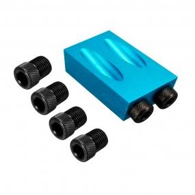 Gabarito para Furos Chanfrados 6 a 10mm Pocket Hole Jig - Charbs