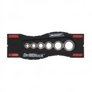 Gabarito Guia de Furação Métrico (DrillBlock) - Milescraft