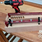 Gabarito Jig  Escala 600 para Cavilhas 6, 8 e 10mm - Zinni Gabaritos