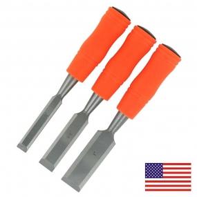 Kit de Formões Americanos com 3 peças - 1