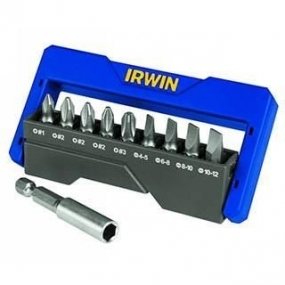 Kit de Bit Phillips/Fenda (10 peças) - Irwin
