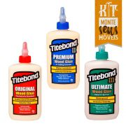 Kit de Colas Original, Premium e Ultimate (237ml) - Titebond