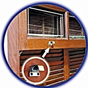 Levantador Mundial P/Janela - Par Zinco Latão Oxidado (047008) - União