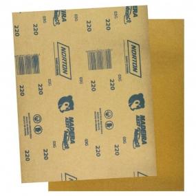 Lixa para Madeira 225x275mm grão 220 Norton