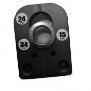 Máscara para Gabarito  Combo 47 (15mm) Minifix - Zinni