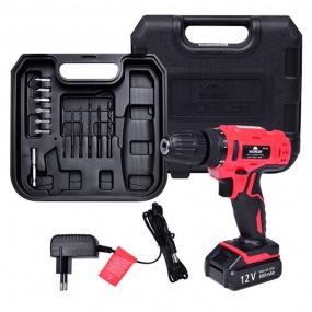 Parafusadeira 12V Bateria Biv Kit com 13 Peças - Worker