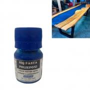 Pasta Corante para Resina Azul Escuro 100ml - Siquiplás