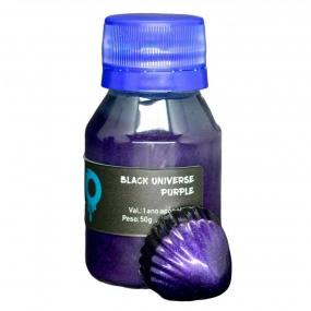 Pigmento Black Universe Violeta (50g) - Ohana