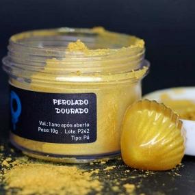 Pigmento Perolado Dourado  (10G) - OHANA