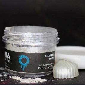 Pigmento Perolado Prata  (10G) - OHANA