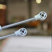 Pistao a Gás 100N Negativo - Metalnox
