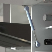 Pistão a Gás Mini 40N Positivo - Metalnox