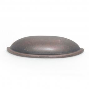 Puxador Concha Meia Lua Bronze Envelhecido - Speed
