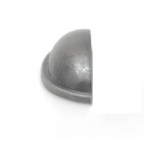 Puxador Concha Meia Lua Prata Envelhecido - Speed