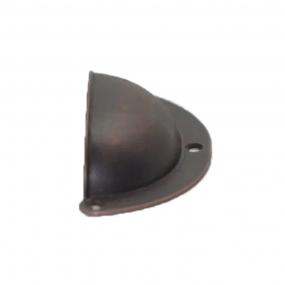 Puxador Concha Pequena Bronze Envelhecido - Speed