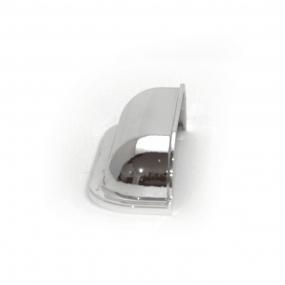 Puxador Concha Quadrada Cromada - Speed