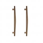 Puxador de Madeira Abaulado Cedro 60cm (Par) - Casmavi